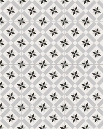 Calvet Gris Cement tile...