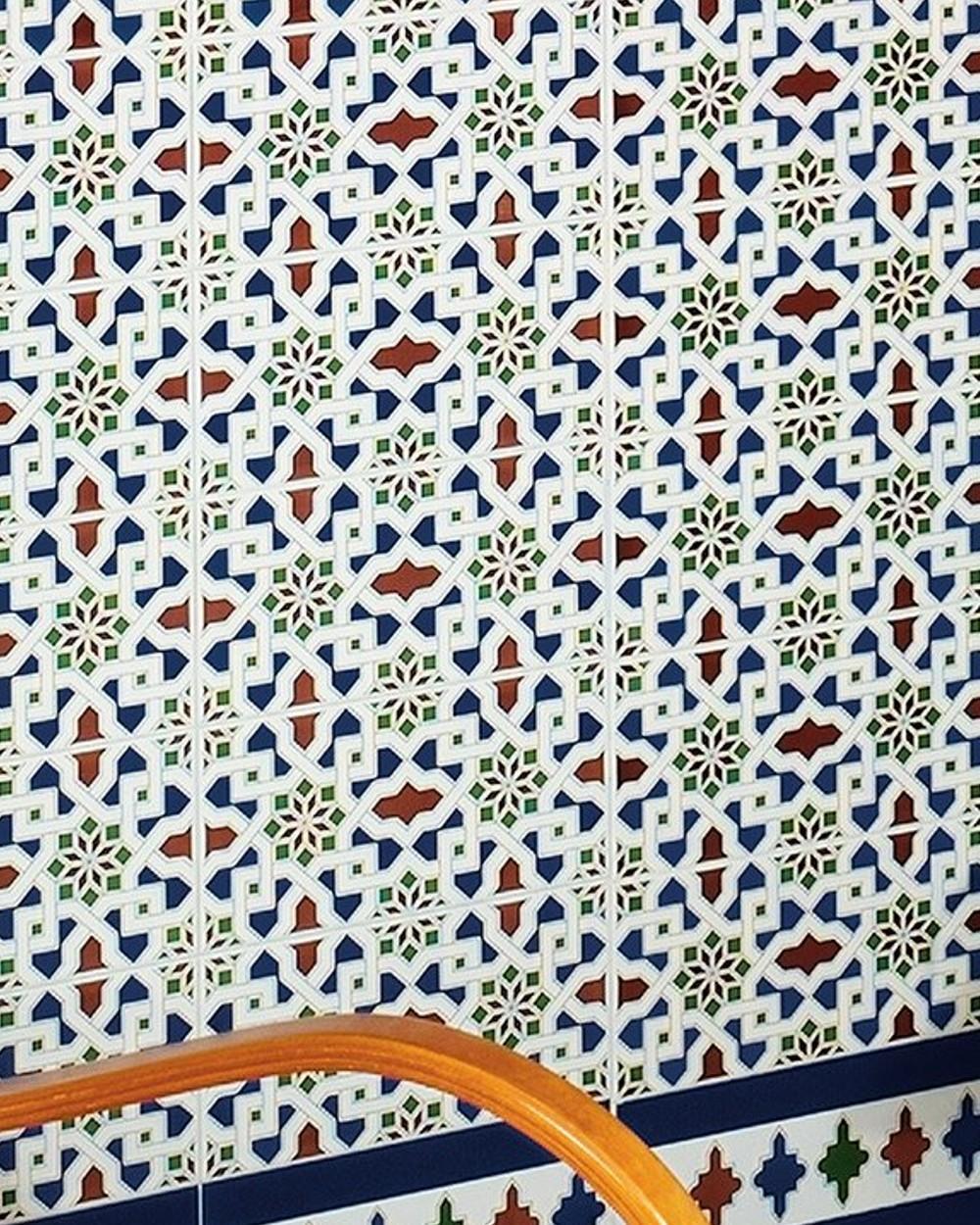 Orientalische Fliese Alhambra