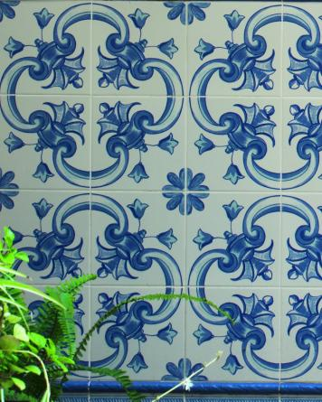 Andalusian tile lore|blue