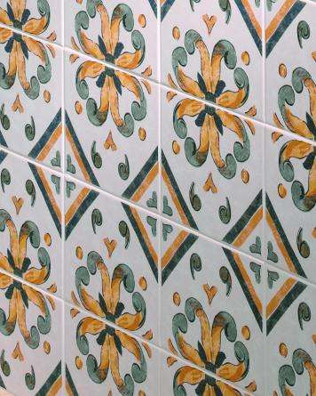 Andalusian tile Aveiro|green