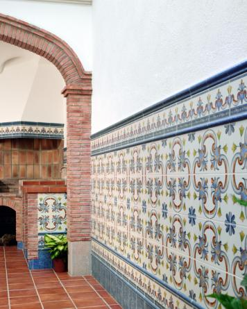 Andalusian tile Carriòn|blue
