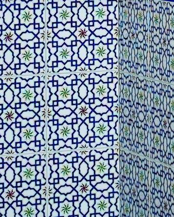 Moroccan tile M-22|blue
