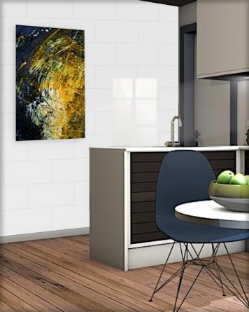 Wall tile white glossy|white