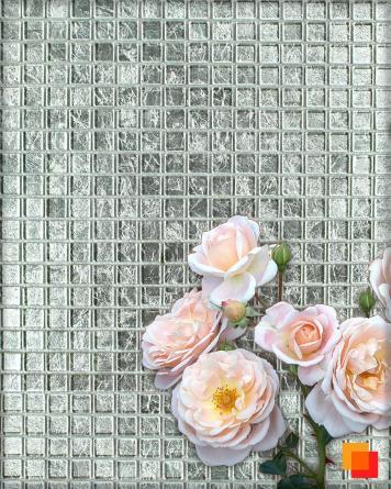 Silver Mosaic 30x30 cm -