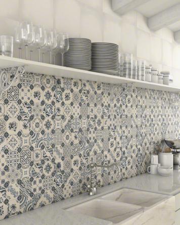 Retiro Vintage Tile - blue