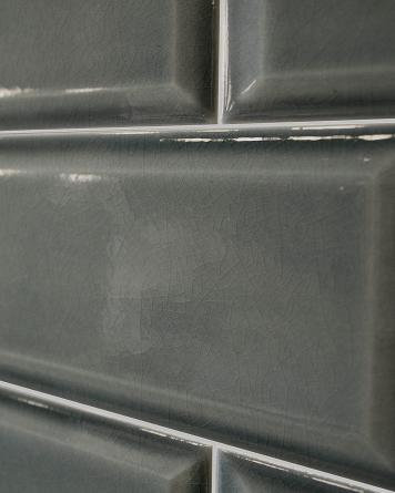 Metro Tile Craquele - grey