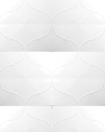 Pashtun Blanco 20x20 cm -