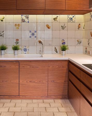 Retro Küchenfliese Forli...