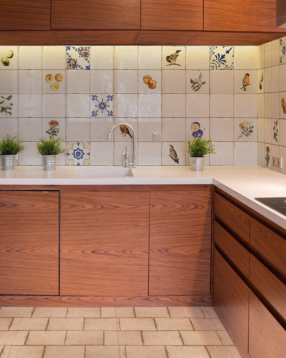 Retro Kitchen Tile Forli Blanco