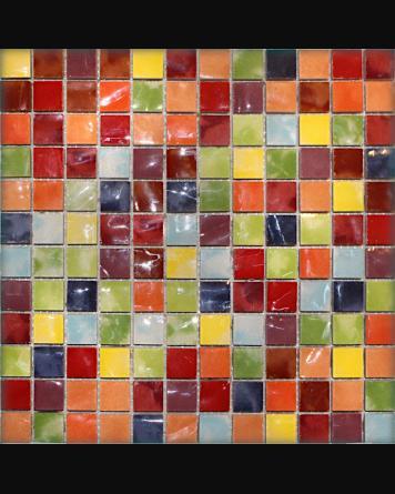 Mosaic Colorful Musiva Mix