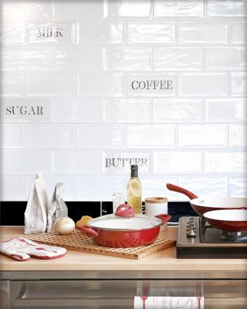 Artisan Dekor Mix Küche|weiß
