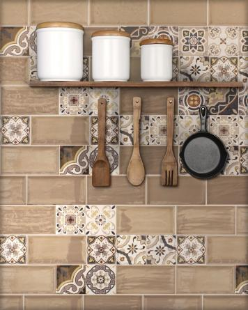 Artisan Decor Mix Olite|brown