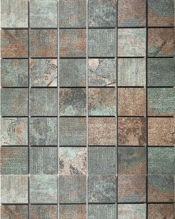 Mosaik Carpet Green 30x30...