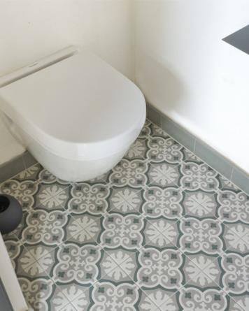 Ancelina cement tile look