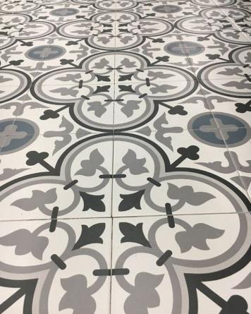 Floor Tile George Bleu...