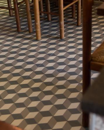 Floor Tile Gustave Bleu...