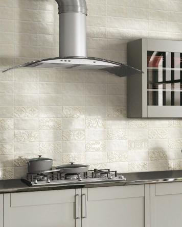 Velvet Deco Bianco 10x20 cm -