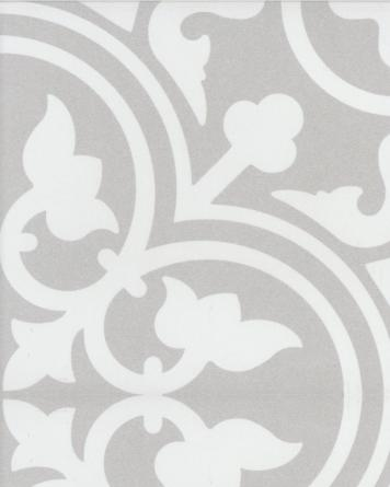 Flavie cement tile look - grey