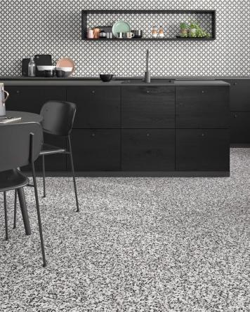 Segments Grey 75x75 cm -