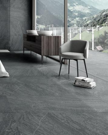 Slatstone Black 60x120 cm...