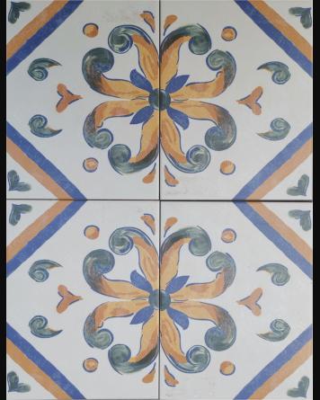 Andalusian tile Aveiro...