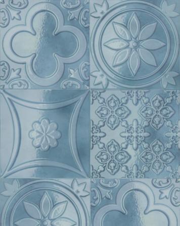 Lucciola Azul 15x15 cm -
