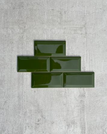 Metrofliesen Flaschengrün...