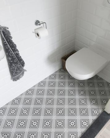 Rosalie cement tile look|grey
