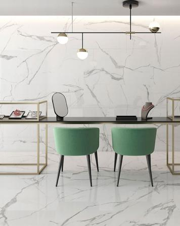 Nilo Blanco Poliert 60x120 cm