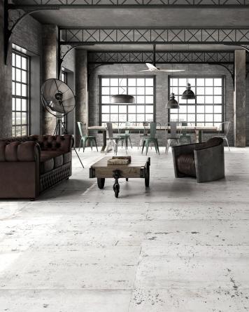 Ash White 74,7x149,6 cm -