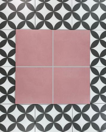 Cement tiles coral 20x20 cm -