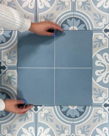 Cement tiles Nube 20x20 cm -