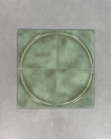 70s Tiles Green Acro Menta...