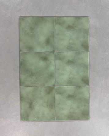 70er Fliesen Grün Tarantela...