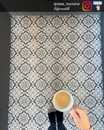 Floor Tile Otto Noir 20x20...