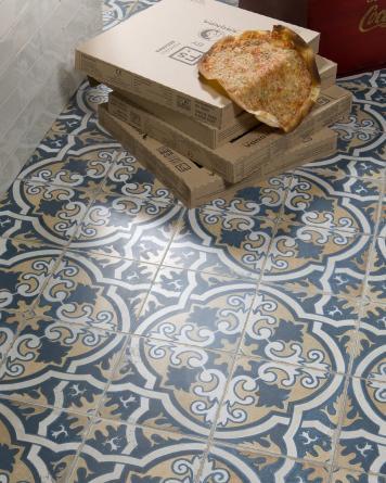 FS 2 vintage tile|blue