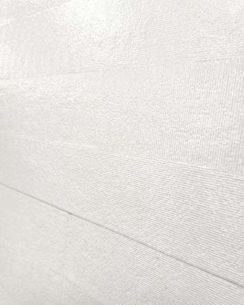 White Tile Mela 25x75 cm -