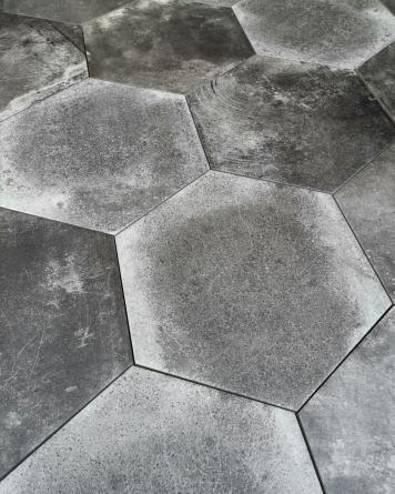 Hexagon Tiles Miami Pitch...