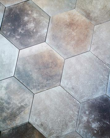 Hexagon Tiles Miami Light...