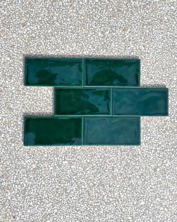 Metro Tile with Craquelé...