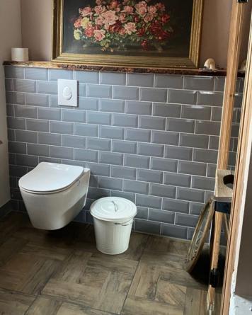 Metro Tiles Grey 10x20 cm...