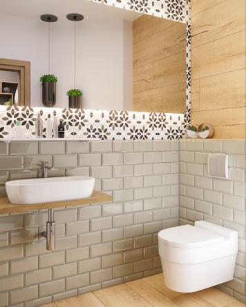 Metro Tiles 10x20 cm Mare -