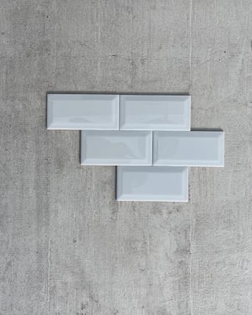 Metro Tiles Grey Shiny...