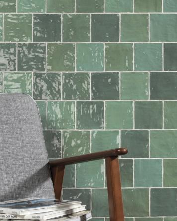 Zellige Tiles RIAD GREEN...