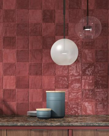 Zellige Tiles RIAD RED...