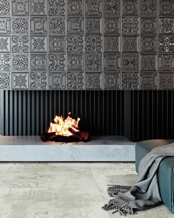 Gatsby Tiles Lead Tin 20x20...