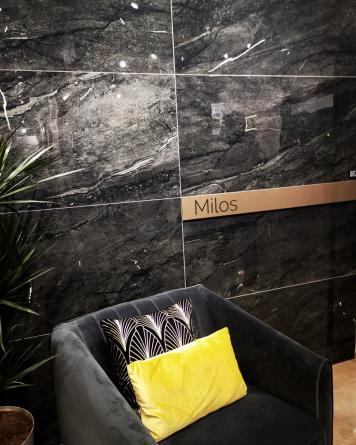 Milos Black 60x120 cm -
