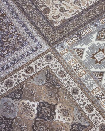 Kilim Carpet Tile Nain...