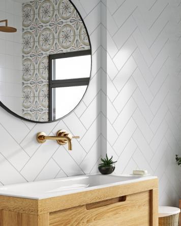 Wall Tile White natural...