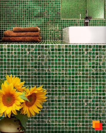 Exklusives Mosaik Jade 043